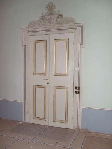 Falegnameria rosignoli ferrara jolanda di savoia falegnameria mobili su misura serramenti - Porte decorate antiche ...